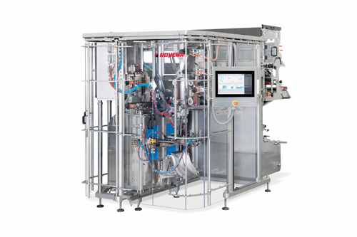 Rovema BVC 260/400 Flexible -függőleges tömlőtasakológép