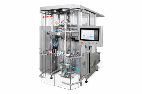 Rovema BVI 180/260/400 - szakaszos üzemű függőleges tömlőtasakoló gép