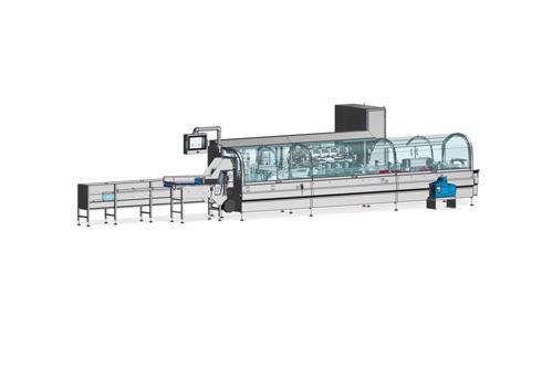 Rovema CMH-C -vízszintes dobozológép