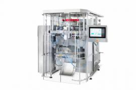 Rovema BVC 400 Frozen - függőleges tömlőtasakológép fagyasztott termékekhez